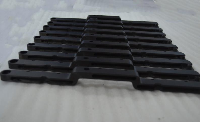 一体成型多个弯曲度碳纤维加工件
