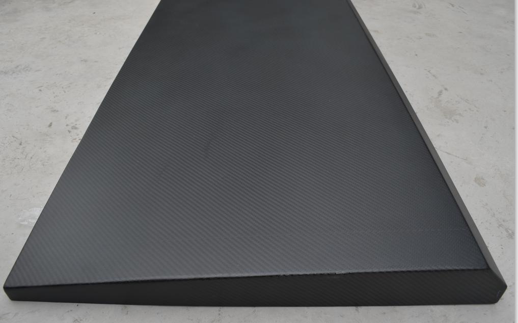 耐高温斜坡型碳纤维机械门板