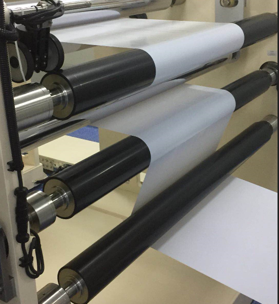 涂布机/覆膜机/印刷机用低惯量碳纤维辊