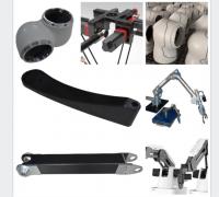 各种类型的碳纤维工业机械手臂