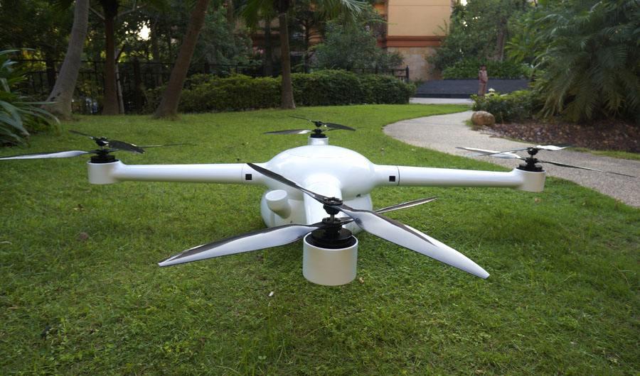 碳纤维无人机机壳