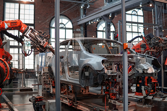 碳纤维机器人手臂和碳纤维汽车零部件