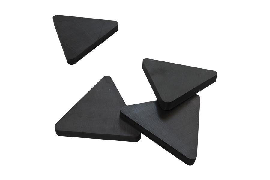 飞机零部件热塑性碳纤维三角板3