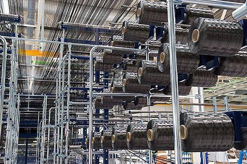 吉林碳谷高性能碳纤维生产线投产