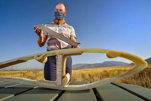 ORNL新型大丝束碳纤维可将叶片主梁材料成本降低40%