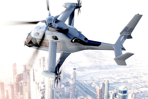 """空客""""高速低成本旋翼机""""由碳纤维材料制造"""