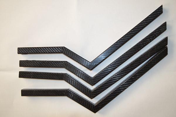 碳纤维弯折型方管