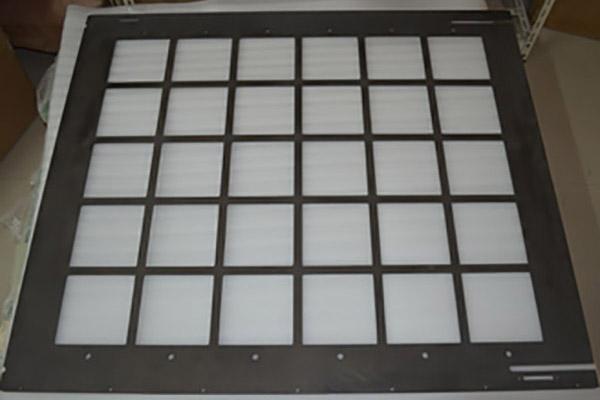 光伏晶硅太阳能电池用耐高温碳纤维载板