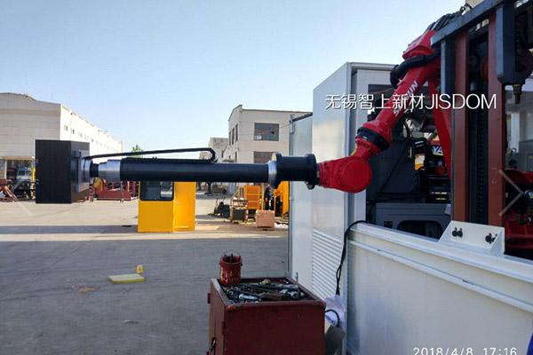 碳纤维可伸缩式机械臂机械套管