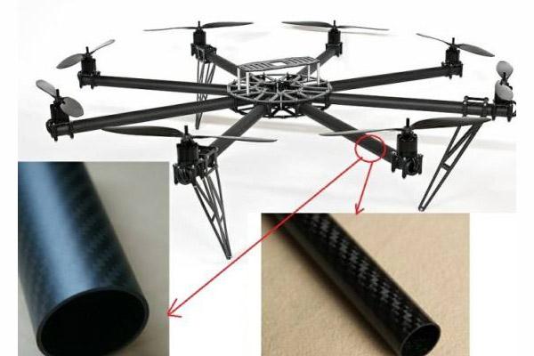 碳纤维无人机臂架圆管