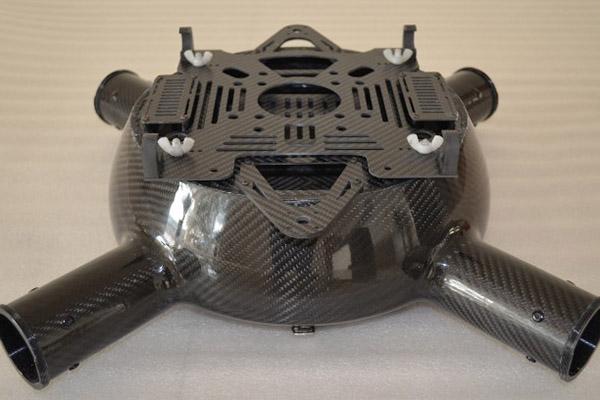 四轴式碳纤维无人机机壳